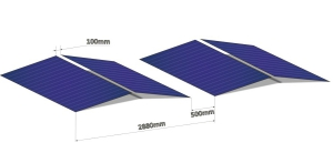 Photovoltaic System Design for a Contaminated Area in Falun